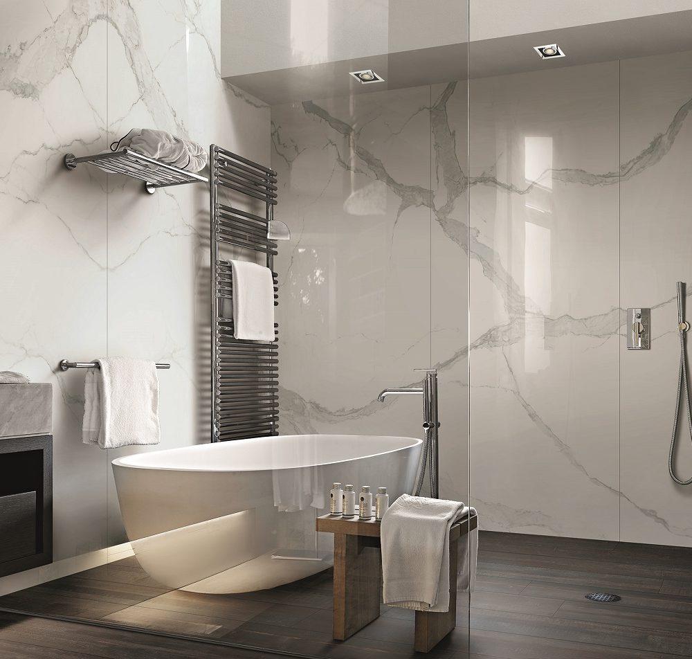 satariano marble bathroom